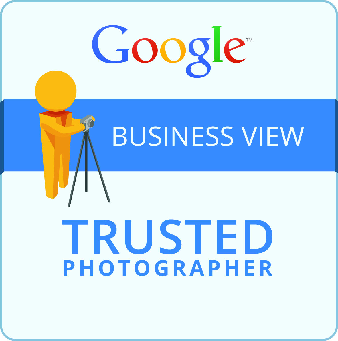 A picture of a google trusted photographer badge