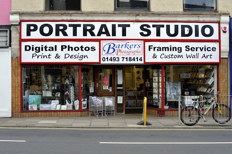 A photo of the front of Barkers Photographic